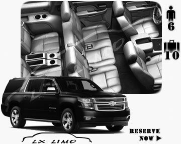 SUV for the airport transfer in Toronto